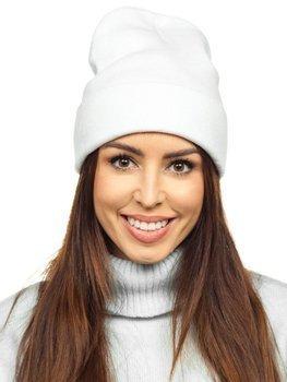 Bílá dámská zimní čepice Bolf YW09004