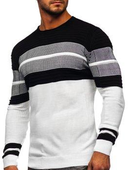 Bílý pánský svetr Bolf 1058