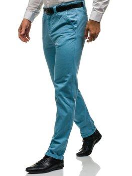 Blankytné pánské chino kalhoty Bolf 6188