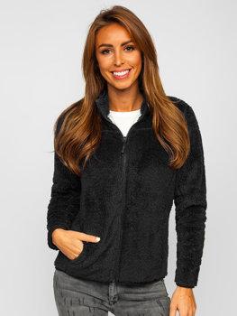 Černá dámská fleecová bunda Bolf HH006