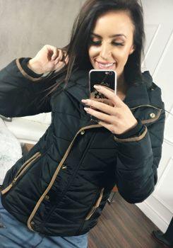 Černá dámská zimní bunda Bolf 22