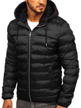 Černá pánská přechodová bunda Bolf 5332