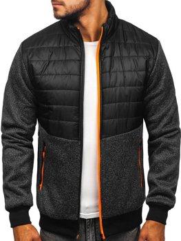 Černá pánská přechodová bunda Bolf TY51
