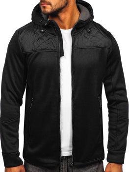 Černá pánská sportovní bunda Bolf HH014