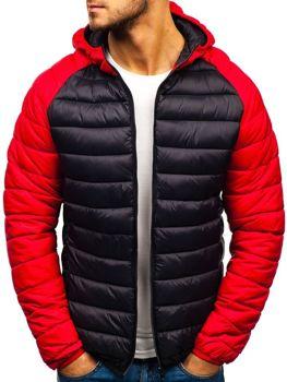 Černá pánská sportovní zimní bunda Bolf SM15