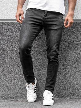 Černé pánské džíny Bolf KX258