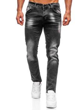 Černé pánské džíny regular fit Bolf R909