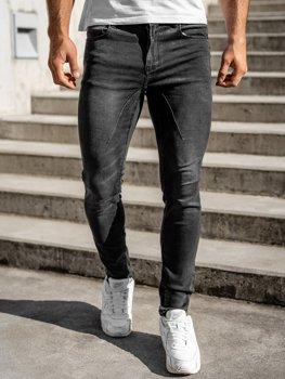 Černé pánské džíny regular fit Bolf T331