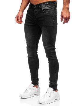 Černé pánské džíny slim fit Bolf R924