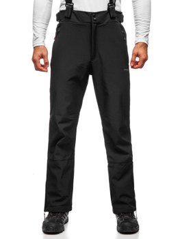 Černé pánské lyžařské kalhoty Bolf BK159
