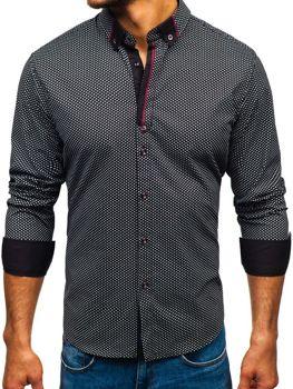 c9151dc7bfc Pánské košile s dlouhým rukávem