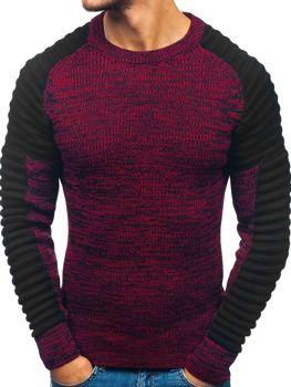 Černo-červený pánský svetr Bolf 157 b096d4b92bb