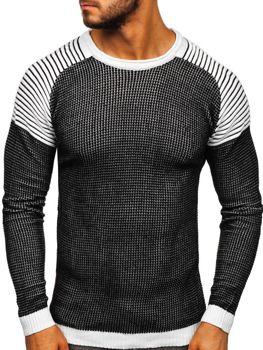 Černý pánský svetr Bolf 0004