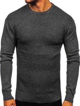 Černý pánský svetr Bolf 8512