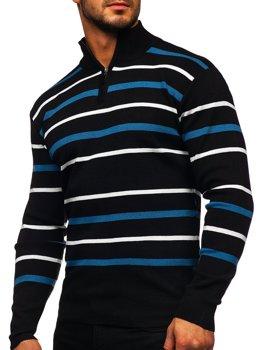 Černý pánský svetr Bolf W05