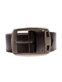 Hnědý pánský kožený pásek Bolf P006