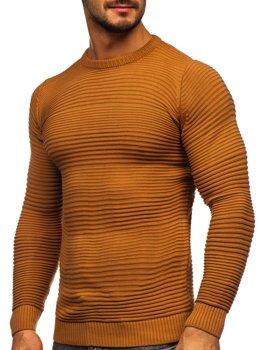 Hnědý pánský svetr Bolf 4608