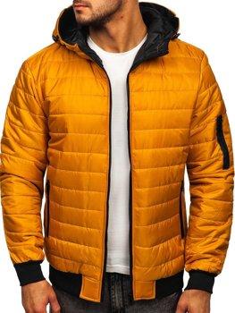 Kamelová pánská sportovní přechodová bunda Bolf MY13