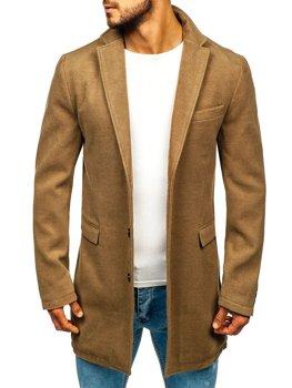 Kamelový pánský zimní kabát Bolf 1047-A