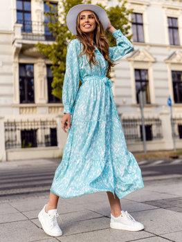 Mátové dámské šaty Bolf A468