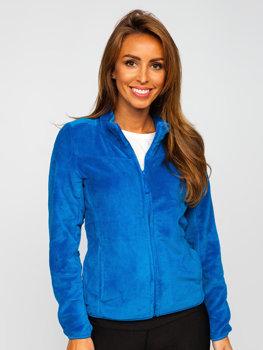 Modrá dámská fleecová mikina Bolf HH001