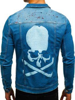 Modrá pánská džínová bunda Bolf 2052-1