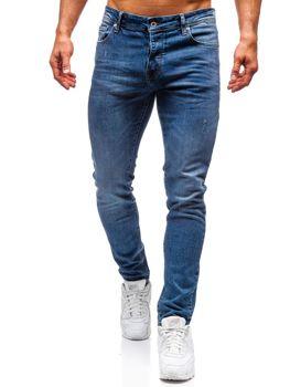 Modré pánské džíny Bolf 7160-A
