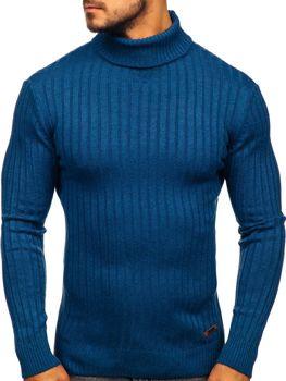 Modrý pánský rolák Bolf 3070