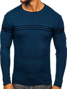 Modrý pánský svetr Bolf 0001