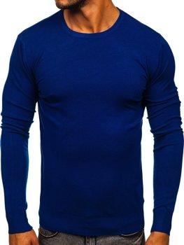 Modrý pánský svetr Bolf YY01