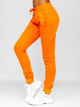Oranžové dámské tepláky Bolf CK-01