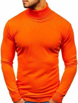 Oranžový pánský rolák Bolf 2400