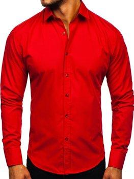 Pánská košile BOLF 1703 červená