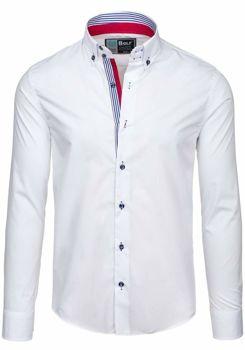 Pánská košile BOLF 5806 bílá