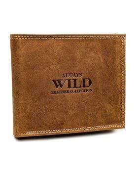 Pánská světle hnědá kožená peněženka 7924