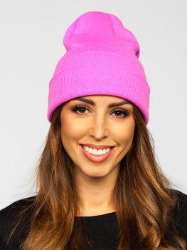 Růžová dámská zimní čepice Bolf YW09004