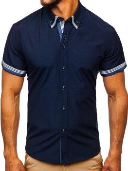 Pánské košile bez vzoru - jednobarevné b629525ff0