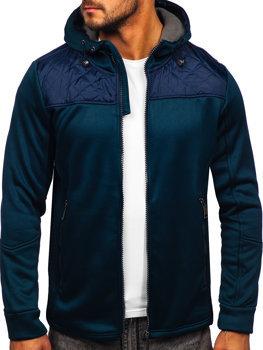 Tmavě modrá pánská sportovní bunda Bolf HH014