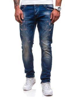 Tmavě modré pánské džíny Bolf 4838-1(1017)