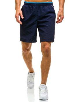Tmavě modré pánské plavecké šortky Bolf WK15