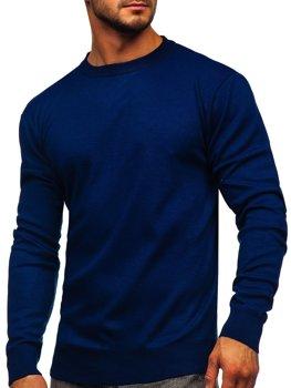Tmavě modrý pánský svetr Bolf GFC01