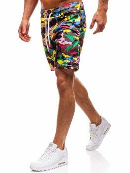 Vícebarevné pánské koupací šortky Bolf K1950B