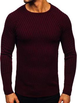 Vínový pánský svetr Bolf 285