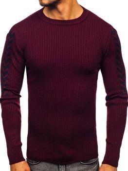 Vínový pánský svetr Bolf 360
