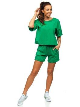 Zelená dámská tepláková souprava Bolf 6256