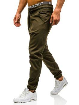 Zelené pánské baggy kalhoty Bolf 0399