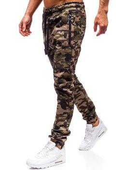 Zelené pánské jogger kalhoty Bolf 0803