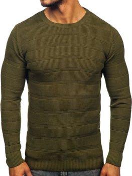 Zelený pánský svetr Bolf 4357