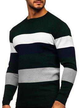Zelený pánský svetr Bolf H2005