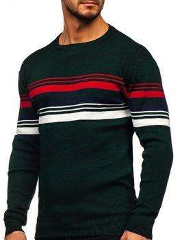 Zelený pánský svetr Bolf H2061